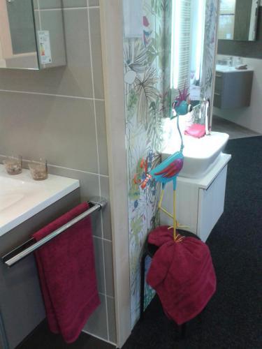 Waschbecken Dekoration