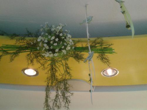 Baeckerei Dekoration Blumen