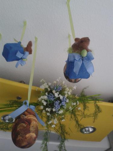 Baeckerei Dekoration Ostern